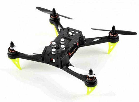 Spedix S250AQ Carbon Fiber Drone w / CC3D PDB Motor ESC Hélices (ARF)