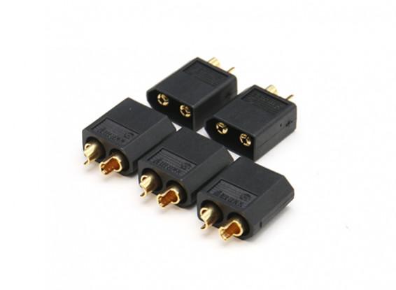 XT60 Black Male Connector (5pcs)