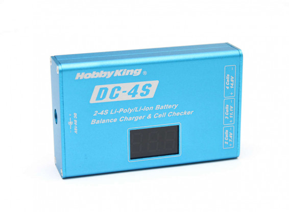 Hobbyking-DC-4S-Balance-Charger-&-Cell Checker-30w-2s-4s9331000001-1