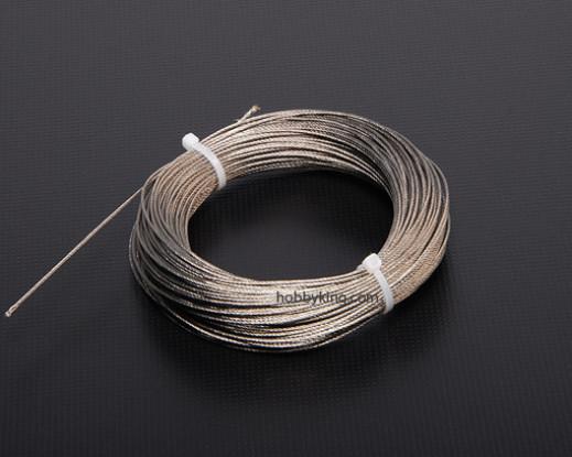 1 mm de altura do fio de aço de tração (1 Mtr)