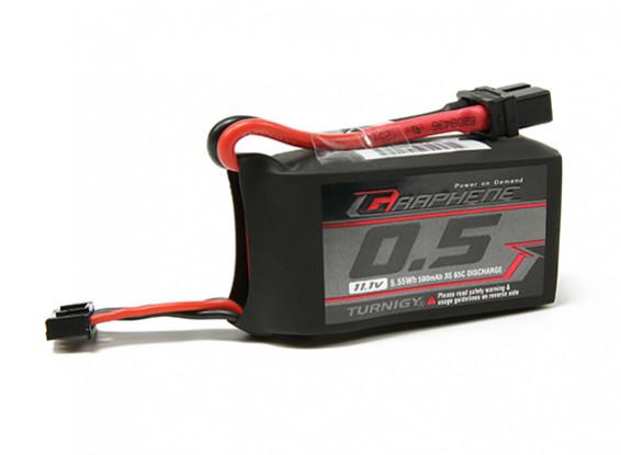 Turnigy Grafeno 500mAh 3S 65C Lipo Pack (Chumbo Short)
