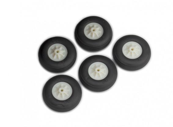 35 milímetros Wheels 5pcs / bag