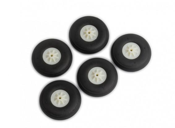 40 milímetros Wheels 5pcs / bag