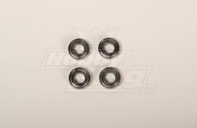 X90 / 700 suporte de lâmina principal Bearing 8x16x5 (4pcs / saco)