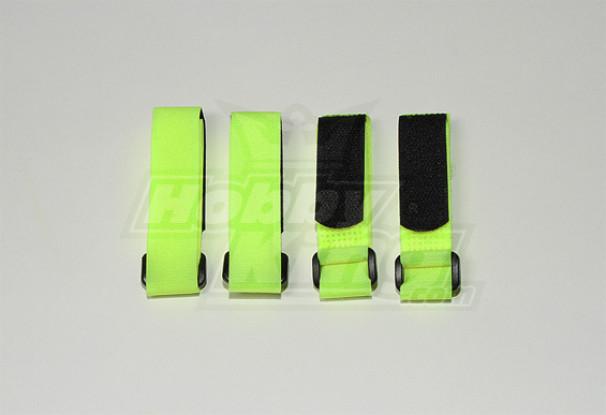 Battery Strap 300X20mm (Lime Yellow) (4pcs / saco)