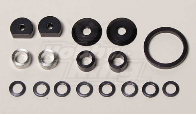 QRF400 roda traseira Eixo Washer Set