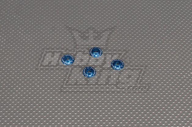 CNC Flanged Washer 3.0 (M3, nº 4 de 40) Blue