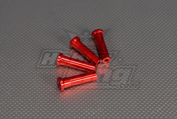 CNC Suporte isolador de 50 mm (M5) Vermelho