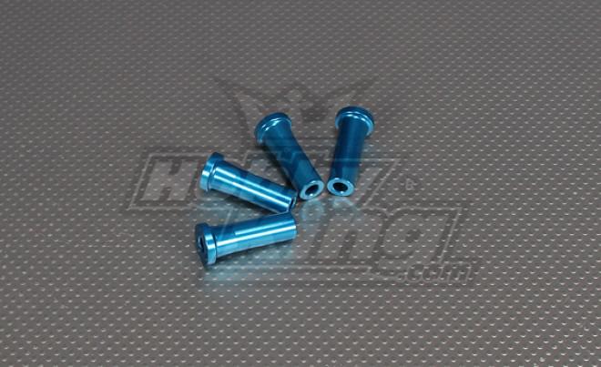 CNC Inch Standoff 40 milímetros (M6,1 / 4 20) Blue