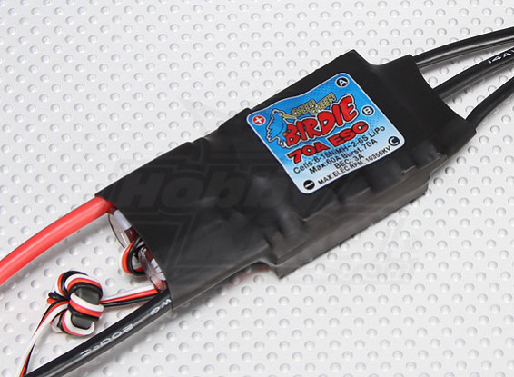 Birdie 60A Brushless ESC w / 3A BEC