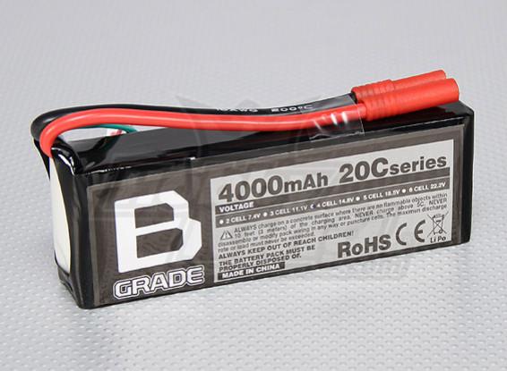 Bateria B-Grade 4000mAh 4S 20C Lipoly