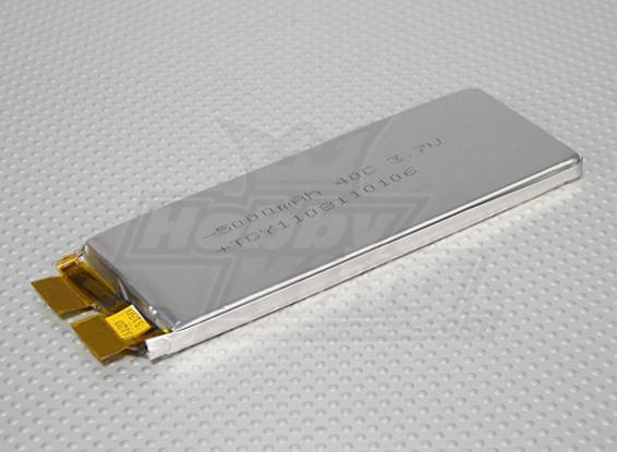 Turnigy 5000mAh 1S 40C Lipoly (Single Cell)