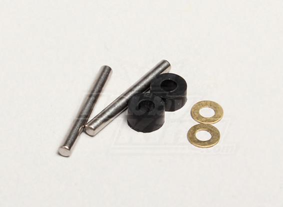 Substituição de eixo horizontal (2sets / saco) - Solo Pro 270