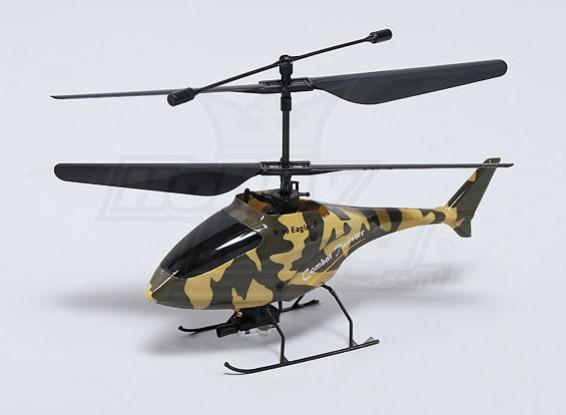 Combate Twister Micro Coaxial Helicóptero de combate - Green (Modo 1) (RTF)