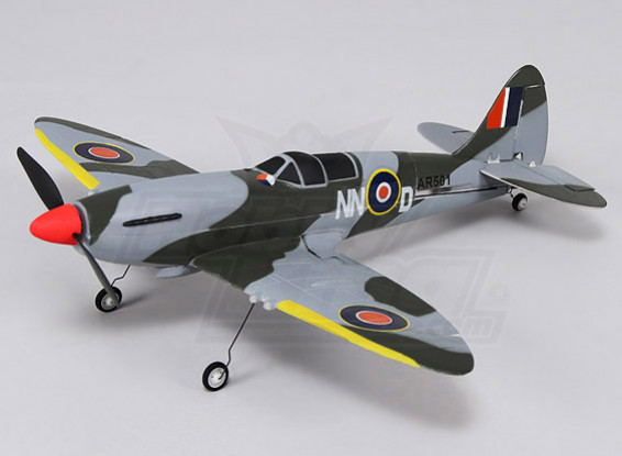 Spitfire Ultra 400 milímetros Micro 4CH (Bind e Fly)