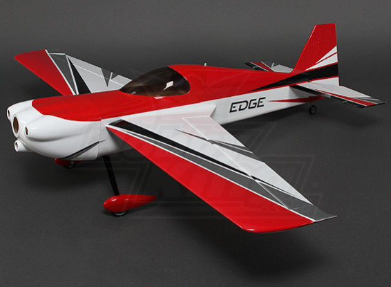 Hobbyking Edge 540 V3 (vermelho / branco) 1,200 milímetros 3D (ARF)
