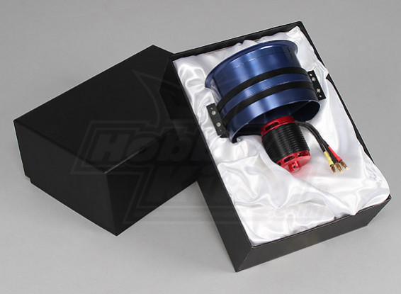 unidade EDF Série 120 milímetros de liga DPS-2 com 4 Pole 980kv Motor - 5000watt (12s)
