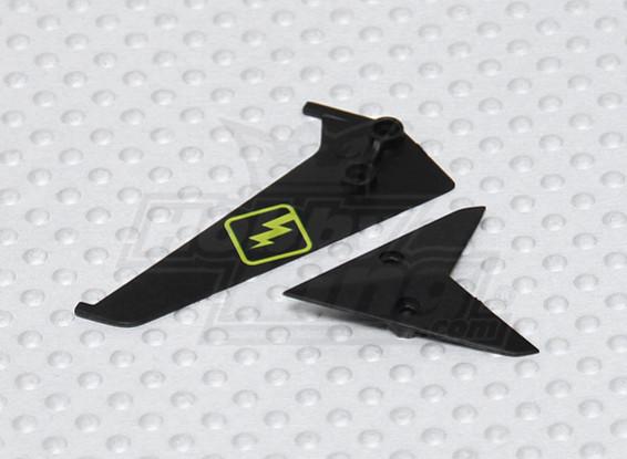 Micro Spycam Helicopter - aleta de cauda de substituição