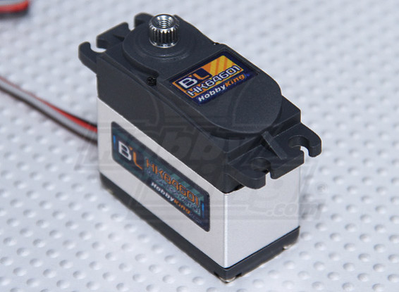 HobbyKing ™ BL-84601 Digital Brushless Servo HV / MG 16,10 kg / 0.16sec / 56g