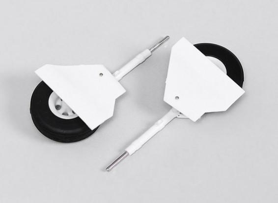 Durafly ™ T-28 1.100 mm (1pair) Principal Landing Gear Set
