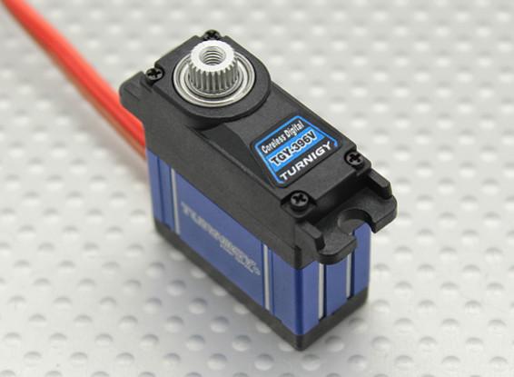 Turnigy ™ TGY-396V Coreless HV / DS / MG Servo w / dissipador de calor 2,5 kg / .06sec / 22,5 g