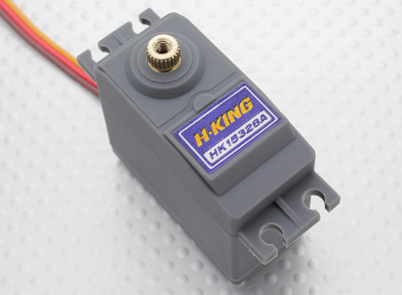 HobbyKing ™ HK15328A Analog Servo BB / MG 12,8 kg / 0.20sec / 58g