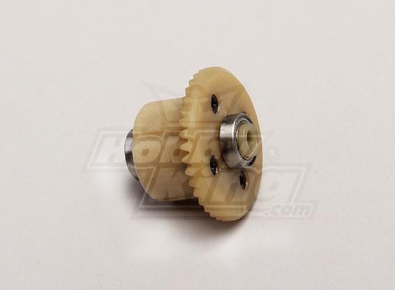 Engrenagem principal Diff w / rolamentos (4T Motor Gear) - 1/18 4WD RTR On-Road Deriva / Curso de curta duração