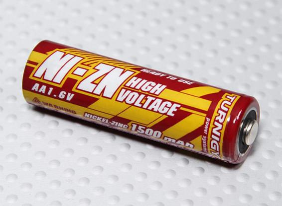 Turnigy bateria recarregável AA 1500mAh NiZn 1.6V