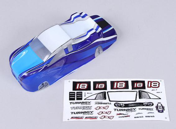Substituição Shell w / Decal - 118B (azul)
