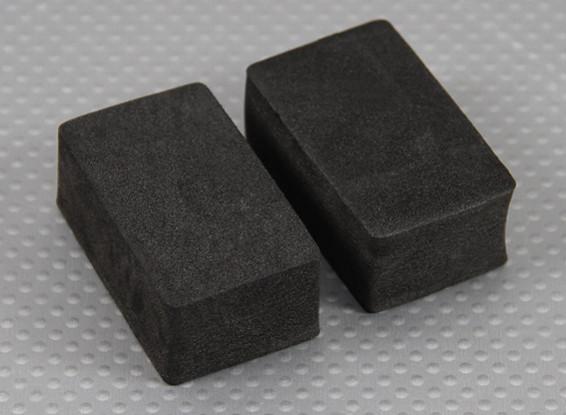Filtro de ar de espuma 1/10 Turnigy 4WD Brushless Curso de curta duração camião (2pcs / saco)