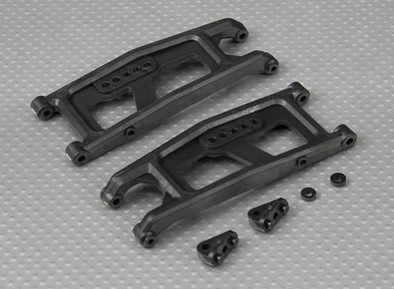 Mais baixos braços de suspensão (L / R) 1/10 Turnigy 4WD Brushless Curso de curta duração Truck