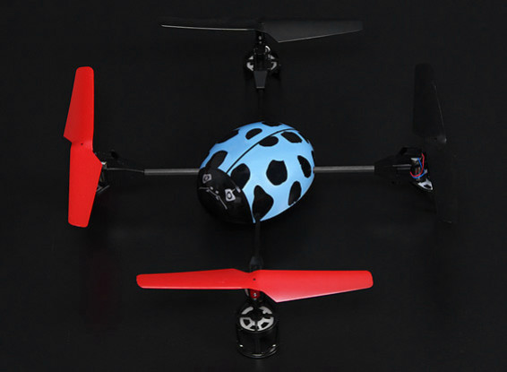 Mini Beetle Quadrotor RTF (Modo 2)