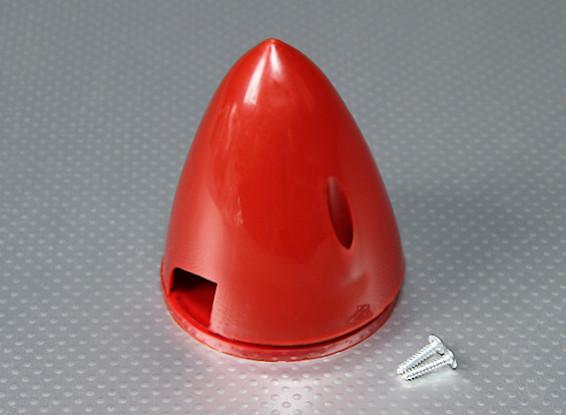 Nylon 70 milímetros Spinner (vermelho)