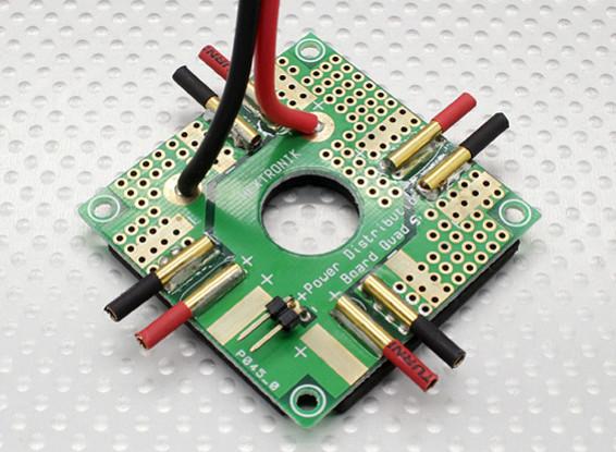 Distribuição passatempo Rei Quadrotor Power Board Lite.