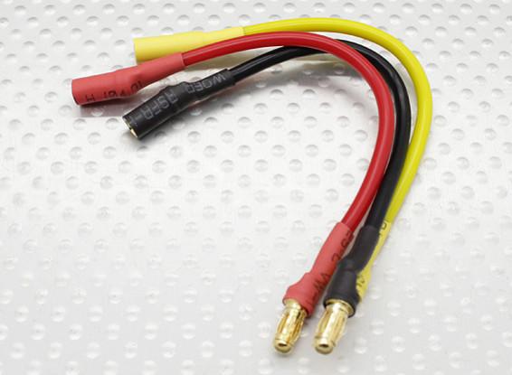 3,5 mm macho / fêmea Bala Brushless Motor Extensão 100 milímetros de chumbo