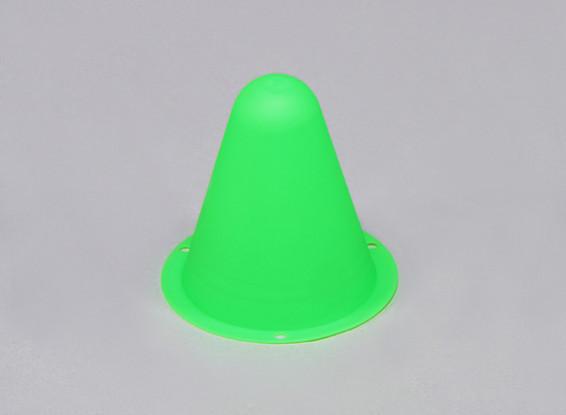 Cones de Corrida de plástico para / Faixa Car R C ou deriva Course - verde (10pcs / saco)