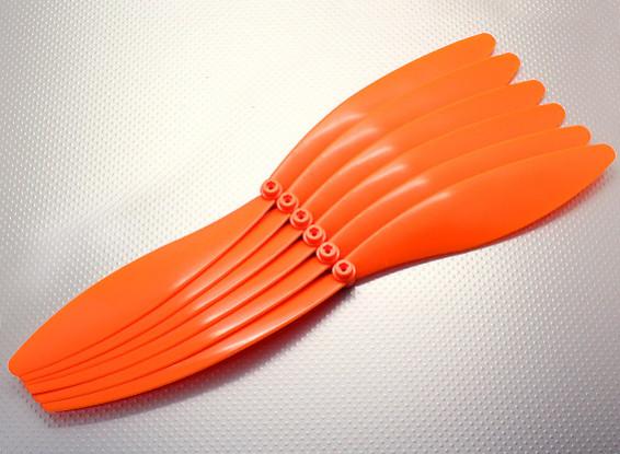 GWS EP Hélice (EP1575 / 381x191mm) laranja (6pcs / pack)