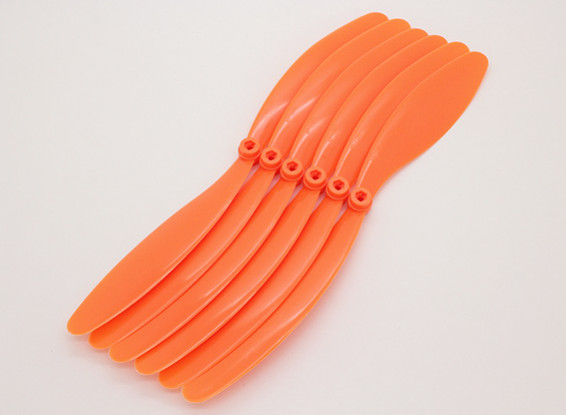 GWS EP Hélice (RD-1080 254x203mm) 6pcs laranja / bag