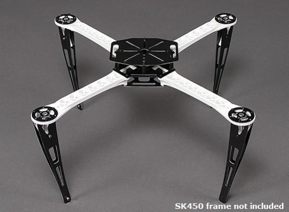 Extensão Landing Skid Set for SK450 Quadrotor Moldura