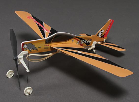SF. 260 Rubber Band Alimentado Freeflight Modelo 480 milímetros Span