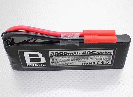 Bateria B-Grade 3000mAh 2S 40C Lipoly