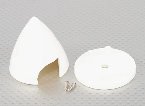 "Spinners de plástico 2 ""White"