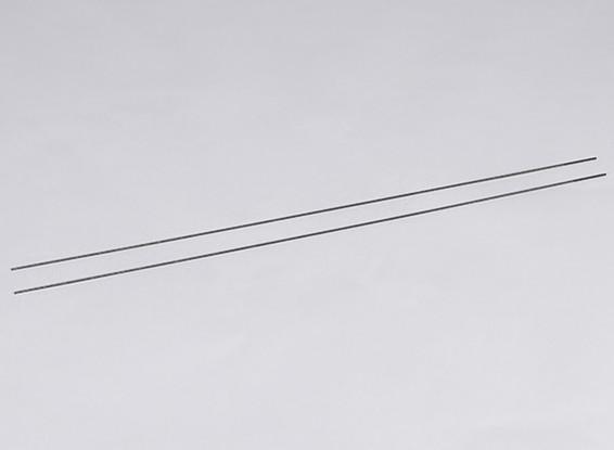 Metal impulso Rods M2xL550 (2pcs / set)
