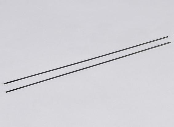 Metal impulso Rods M2.2xL250mm (2pcs / set)