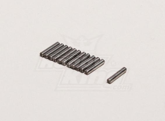 Eixo Pin 2x9.5mm (12pcs / bag) - Turnigy Trailblazer 1/8, XB e XT 1/5