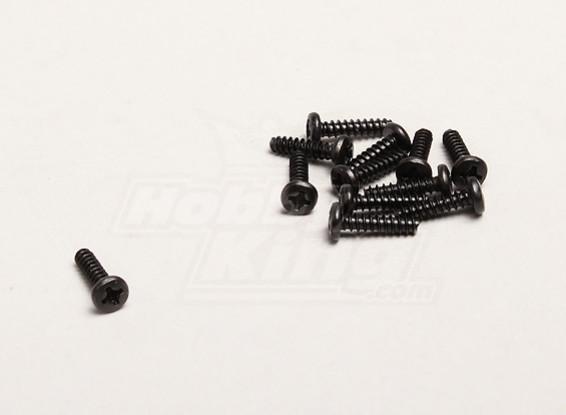 Auto Tapping 3x12mm Cruz Parafuso (12pcs / bag) - Turnigy Trailblazer 1/8