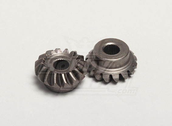 Nutech Diferencial Bevel Gear (Principal) (2pcs / bag) - Turnigy Twister 1/5