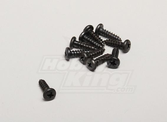 Auto Tapping Round Head Screw 4.2x16mm (10pcs / bag) - Turnigy Twister 1/5