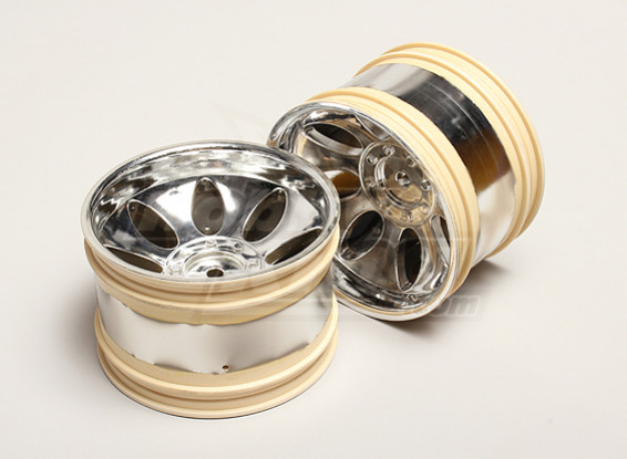 Nutech Unidade da borda da roda (2pcs) - Turnigy Titan 1/5