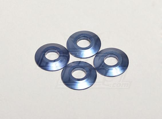 Nutech alumínio Washer (4pcs) - Turnigy Titan 1/5 e 1/5 Trovão